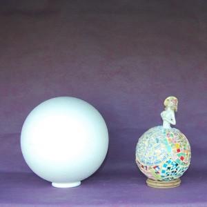 Boule polystyrene 2 parties 20cm - Boule de polystyrene ...